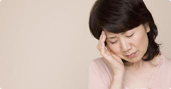 更年期障害の主な症状